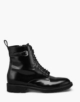 Belstaff Finley Combat Boot Black