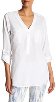 NYDJ Outback Pop-Over Shirt