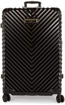 Karl Lagerfeld Paris Textured 31-Inch Hardside Suitcase