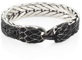 John Hardy Legends Eagle Black Sapphire & Sterling Silver Bracelet