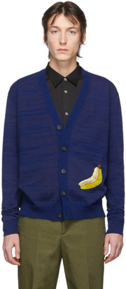 Acne Studios Navy Fruit Cardigan