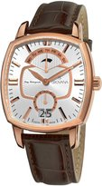 Grovana Men's 1717.1562 Traditional Traditional Leather Strap Quartz Dial Watch