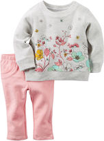 Carter's 2-pc. Sweater and Pants Set - Baby Girls newborn-24m