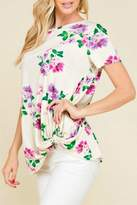 Mad Fit Beth Floral Tee