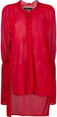 Roland Mouret Ruffled Neck Blouse