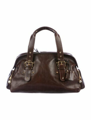 Marc Jacobs Leather Handle Bag Gold