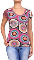 Desigual Women's short sleeve top - , XS