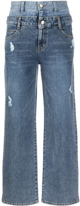 Sjyp High-Waisted Boyfriend Jeans