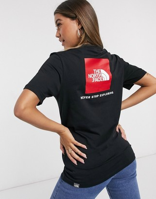 The North Face Red Box t-shirt in black