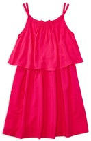 Ralph Lauren Girls' Solid Drapey Dress - Sizes S-XL