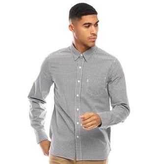Levi's Sunset 1 Pocket Long Sleeve Shirt Briggs Dress Blues