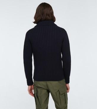 Tom Ford Cashmere shawl collar cardigan