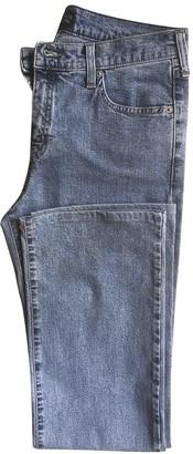 Armani Jeans Blue Cotton - elasthane Jeans for Women
