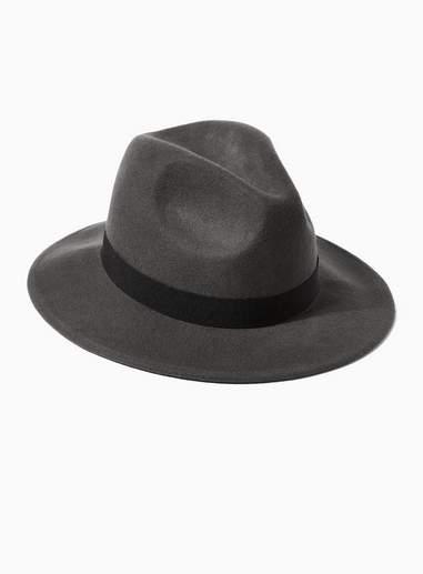 d209457e20bd1c Mens Gray Fedora Hat - ShopStyle