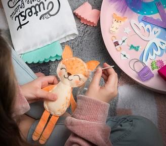 Pottery Barn Kids Make A Fox Friend Craft Kit