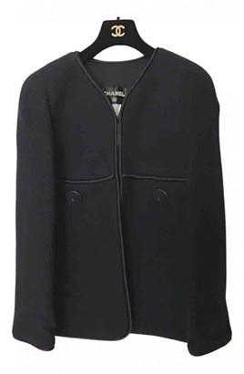 Chanel Blue Tweed Jackets