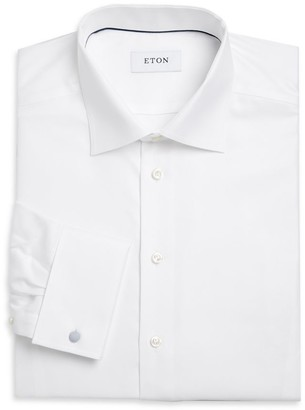 Eton Contemporary-Fit Cavalry Twill Formal Shirt