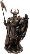 "Private Label Norse God Pagan Viking Loki Statue Finish 10 3/4\"" Tall"