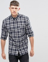 Bellfield Single Pocket Check Button Down
