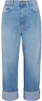 Golden Goose Deluxe Brand Kim High-rise Straight-leg Jeans - Light denim