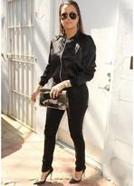 Jet by John Eshaya Black Glazed Jean in Grease Lightning as Seen On Khloe Kardashian