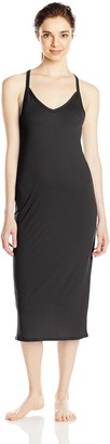 Yummie by Heather Thomson Women's Pima Jersey Strappy Racer Gown