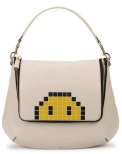 Anya Hindmarch Maxi Leather Satchel