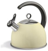 Morphy Richards Accents Whistling Kettle, 2.5 L - Cream