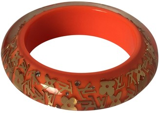 Louis Vuitton Inclusion Orange Plastic Bracelets
