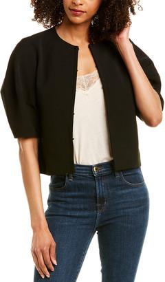 Alice + Olivia Danni Cropped Box Jacket