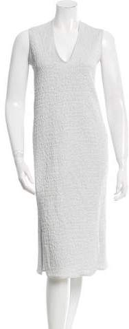 Zero Maria Cornejo Textured Midi Dress