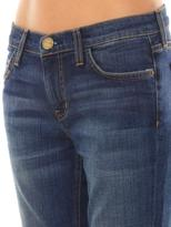 Current/Elliott The Cropped low-rise straight-leg jeans