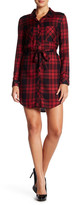 Sanctuary Jordane Plaid Shirt Dress