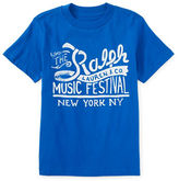 Ralph Lauren Boys 2-7 Festival Text Graphic Tee