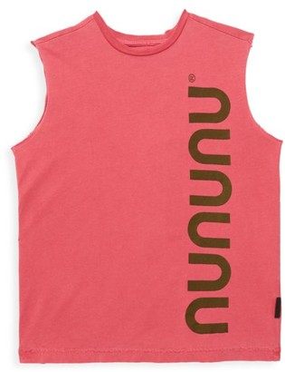 Nununu Litte Boy's Logo Sleeveless Tank Top