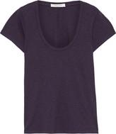 Rag & Bone The U-neck Slub Pima Cotton-jersey T-shirt