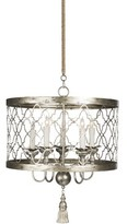 Aidan Gray 5 - Light Candle Style Drum Chandelier