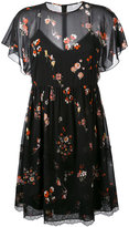 RED Valentino floral print sheer dress - women - Silk/Polyamide/Spandex/Elastane - 40