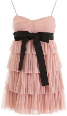 RED Valentino Layered Tulle Mini Skirt