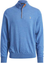 Ralph Lauren Merino Wool Half-Zip Sweater