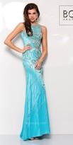 BG Haute - G3307 Dress in Aqua Silver