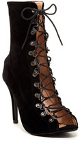 Chase & Chloe Alanis Lace-Up Bootie