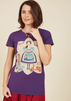 Let Me Italia You This Cotton T-Shirt in XS