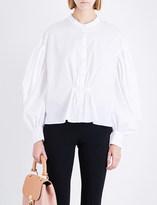Burberry Lilium cotton-poplin shirt
