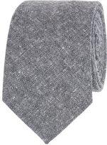 Ben Sherman Textured Plain Mixed Yarn Tie