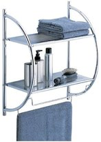 Neu Home 2-Tier Shelf w/ Towel Bars