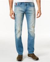 Armani Exchange Men's Destructed Straight-Leg Jeans