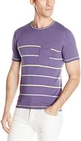 Parke & Ronen Men's Sky Port Knit Crewneck T-Shirt