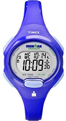 Timex Women's T5K784 Ironman Essential 10 Mid-Size Resin Strap Watch