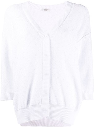 Peserico V-Neck Lightweight Cardigan